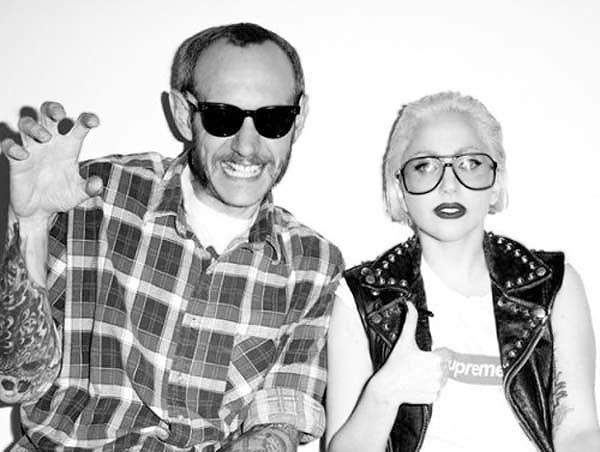 Photographer Terry Richardson and Lady Gaga by Nazmiyal