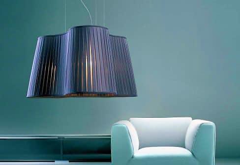 Pleated Pendant Lamp - Nazmiyal