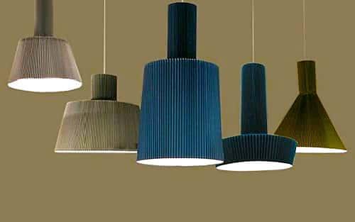 Pleated Pendant Lighting Fixtures - Nazmiyal