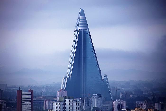 Ryugyong Hotel, Pyongyang, North Korea Nazmiyal