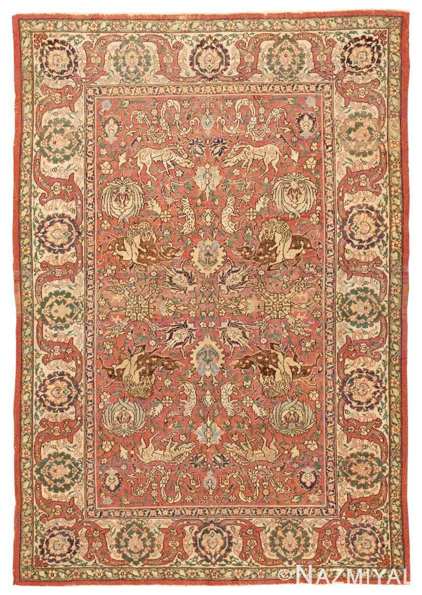 Antique Carpet 45161 Nazmiyal Antique Rugs