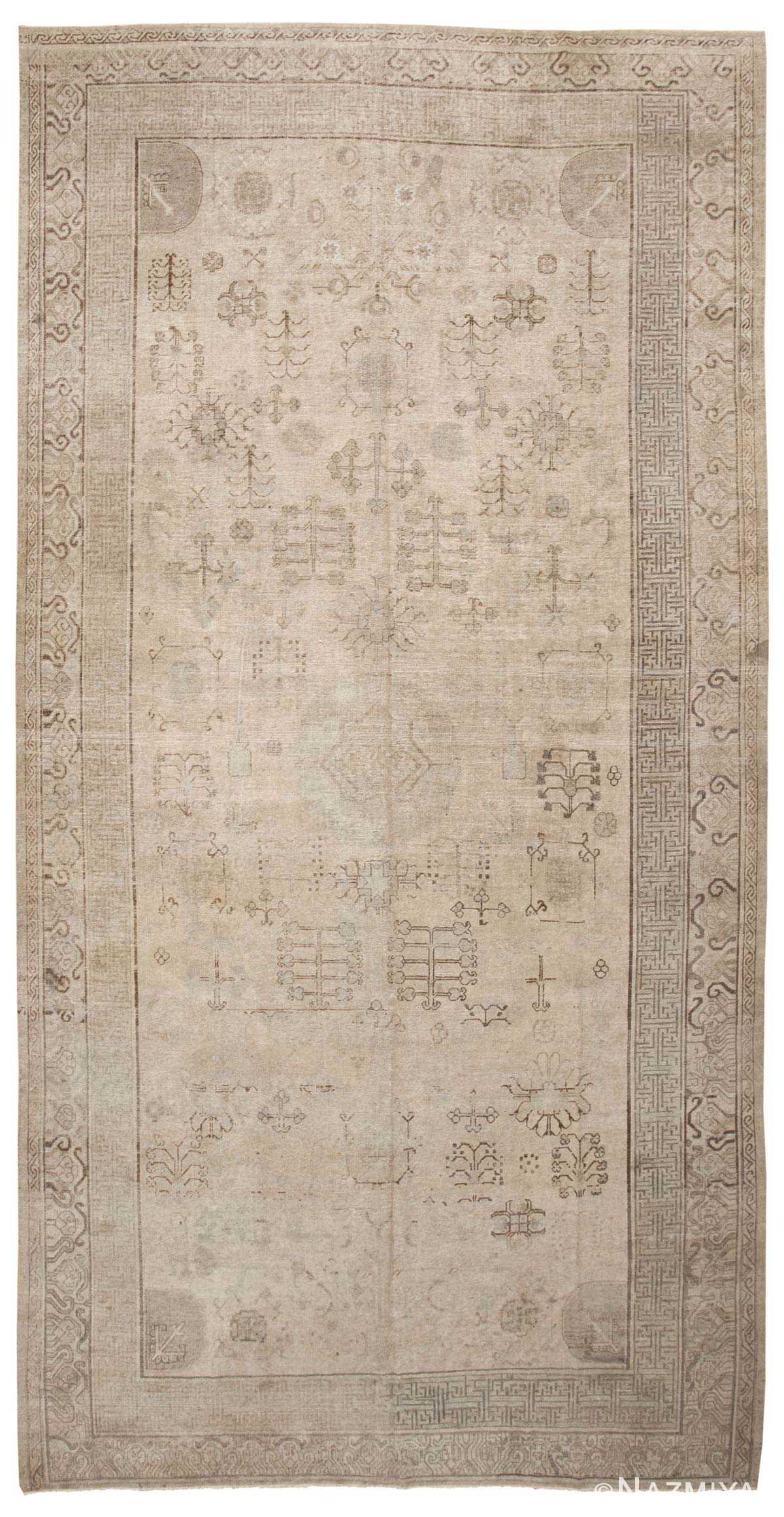 East Turkestan 45222 Nazmiyal Antique Rugs