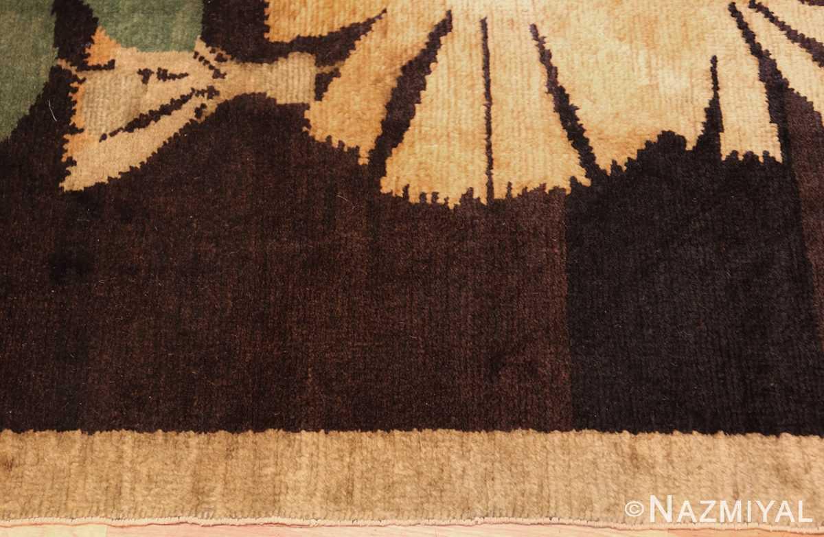 antique french art deco rug 45131 border Nazmiyal