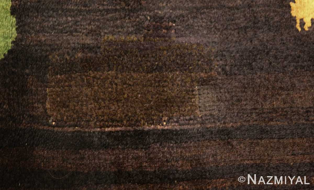 antique french art deco rug 45131 part Nazmiyal