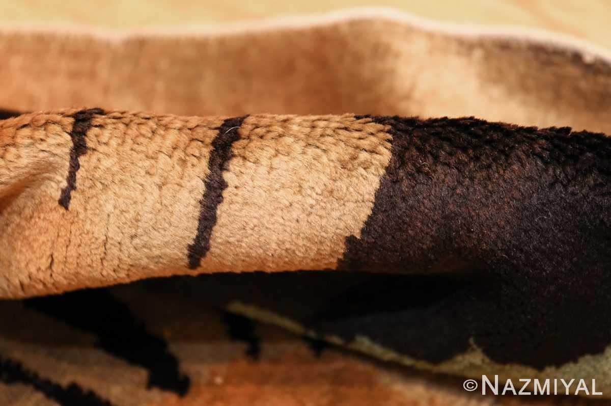 antique french art deco rug 45131 pile Nazmiyal
