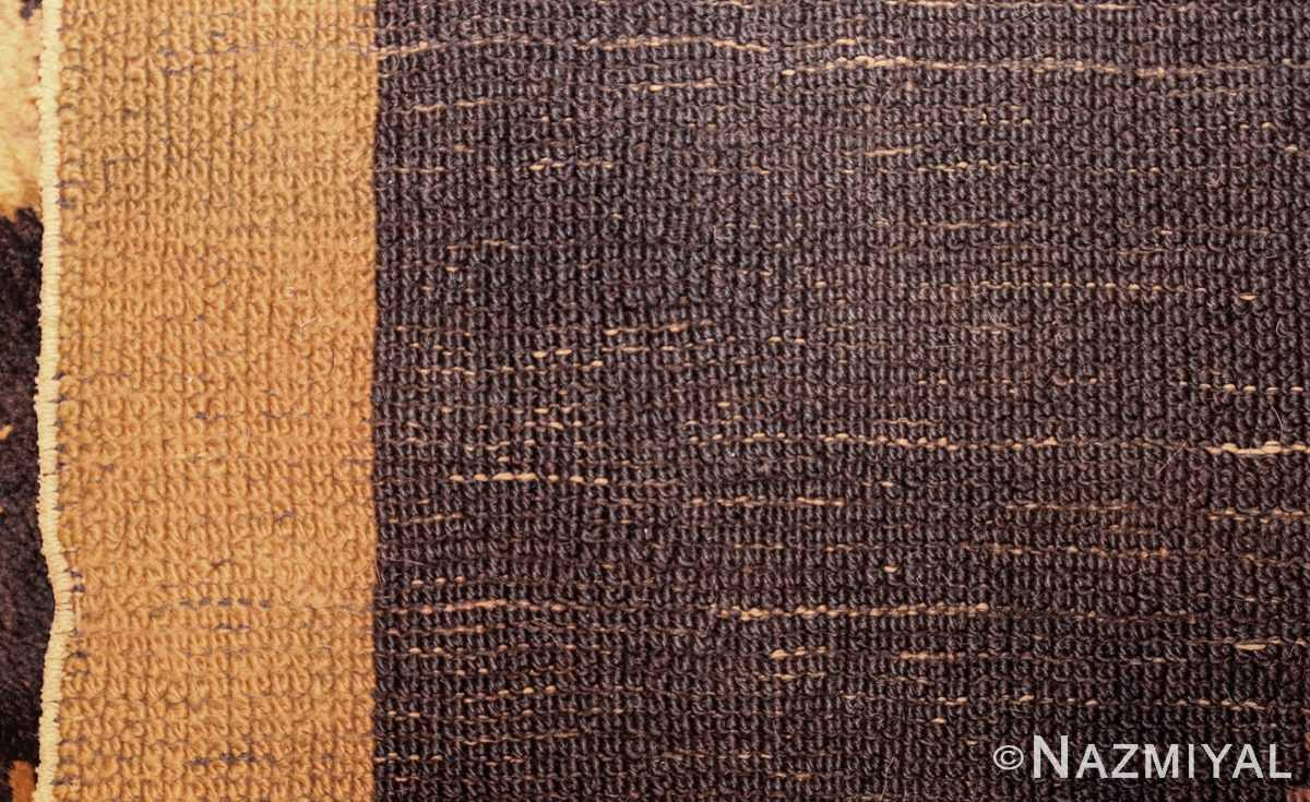 antique french art deco rug 45131 weave Nazmiyal