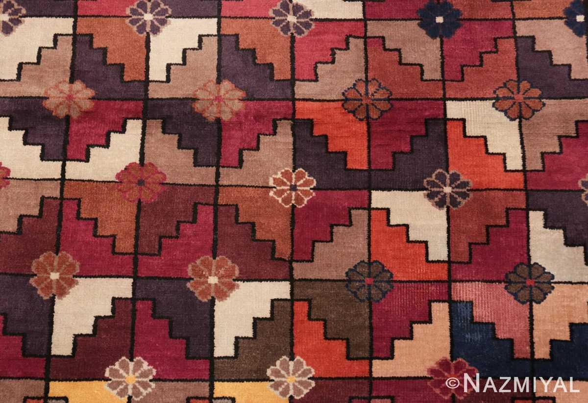 Background Chinese Deco rug 45192 by Nazmiyal