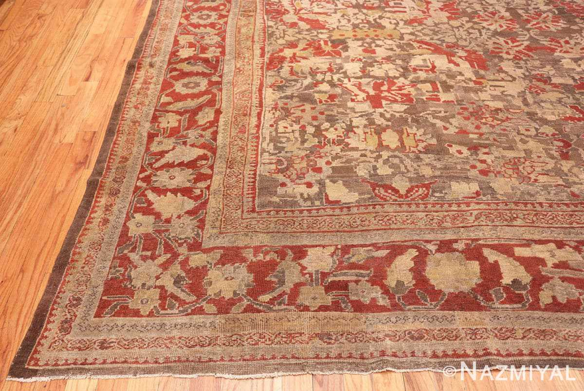 cORNER Antique Sultanabad rug 42160 by Nazmiyal