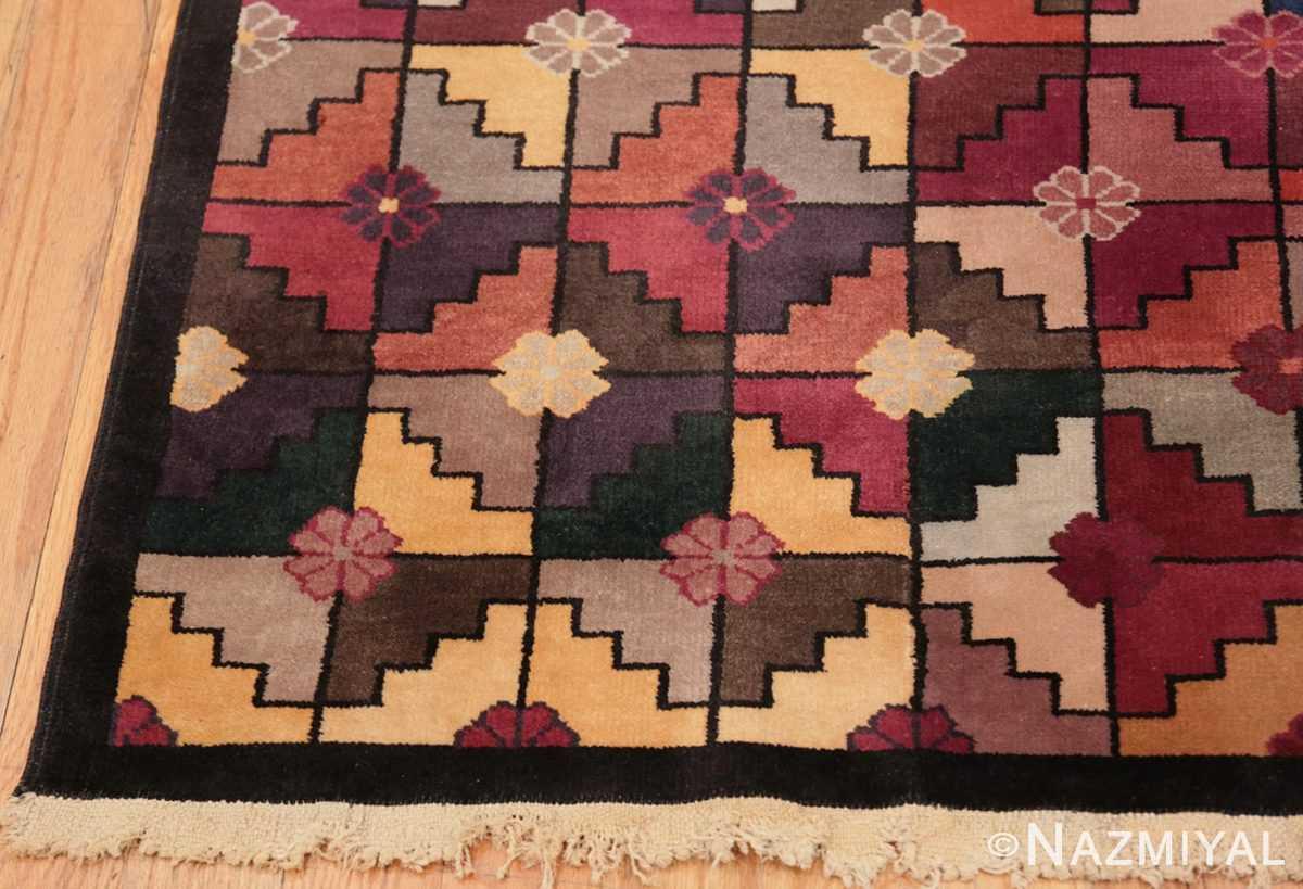 Corner Chinese Deco rug 45192 by Nazmiyal