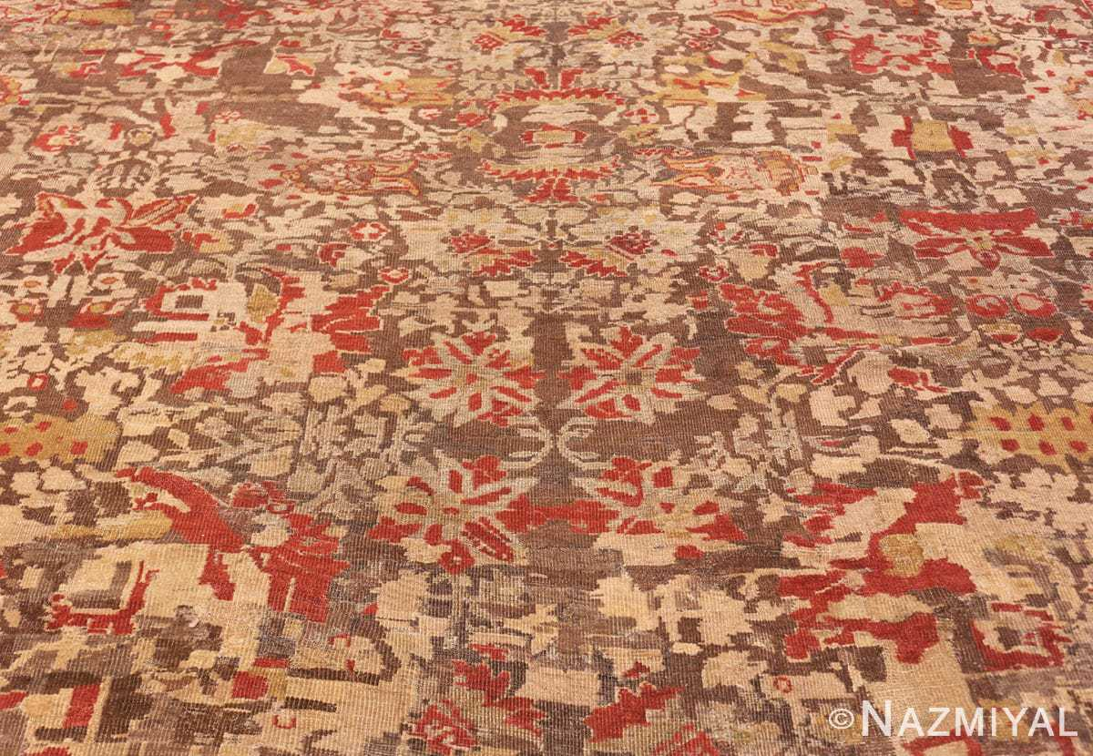 Detail Antique Sultanabad rug 42160 by Nazmiyal