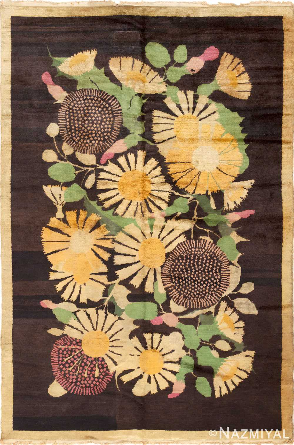 Full Antique French Art Deco rug 45131 by Nazmiyal