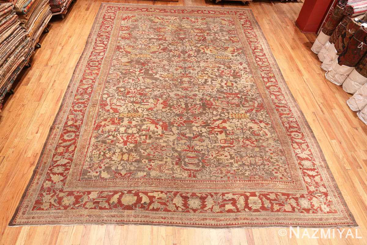 Full Antique Sultanabad rug 42160 by Nazmiyal