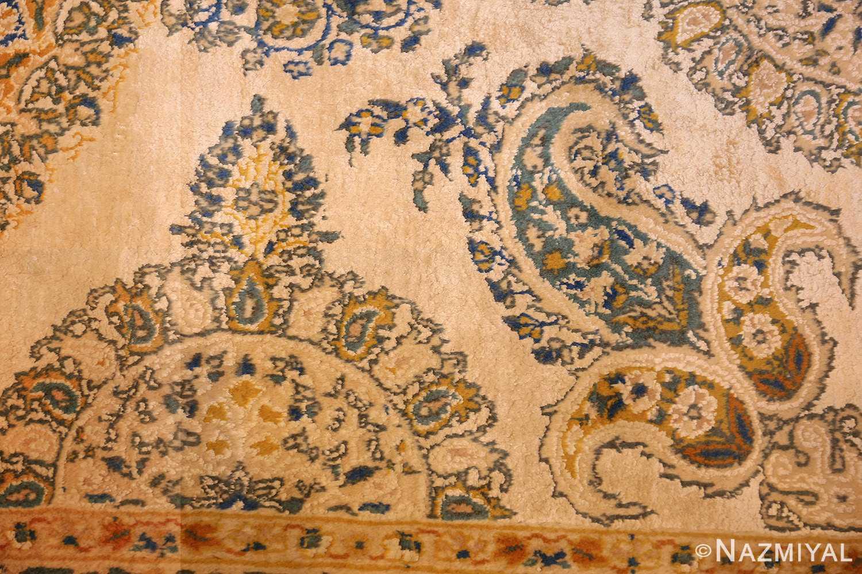 vintage mid century indian rug 45166 design Nazmiyal