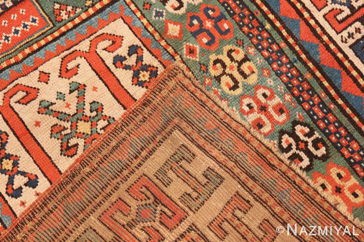 Weave Antique Kazak Caucasian rug 45191 by Nazmiyal