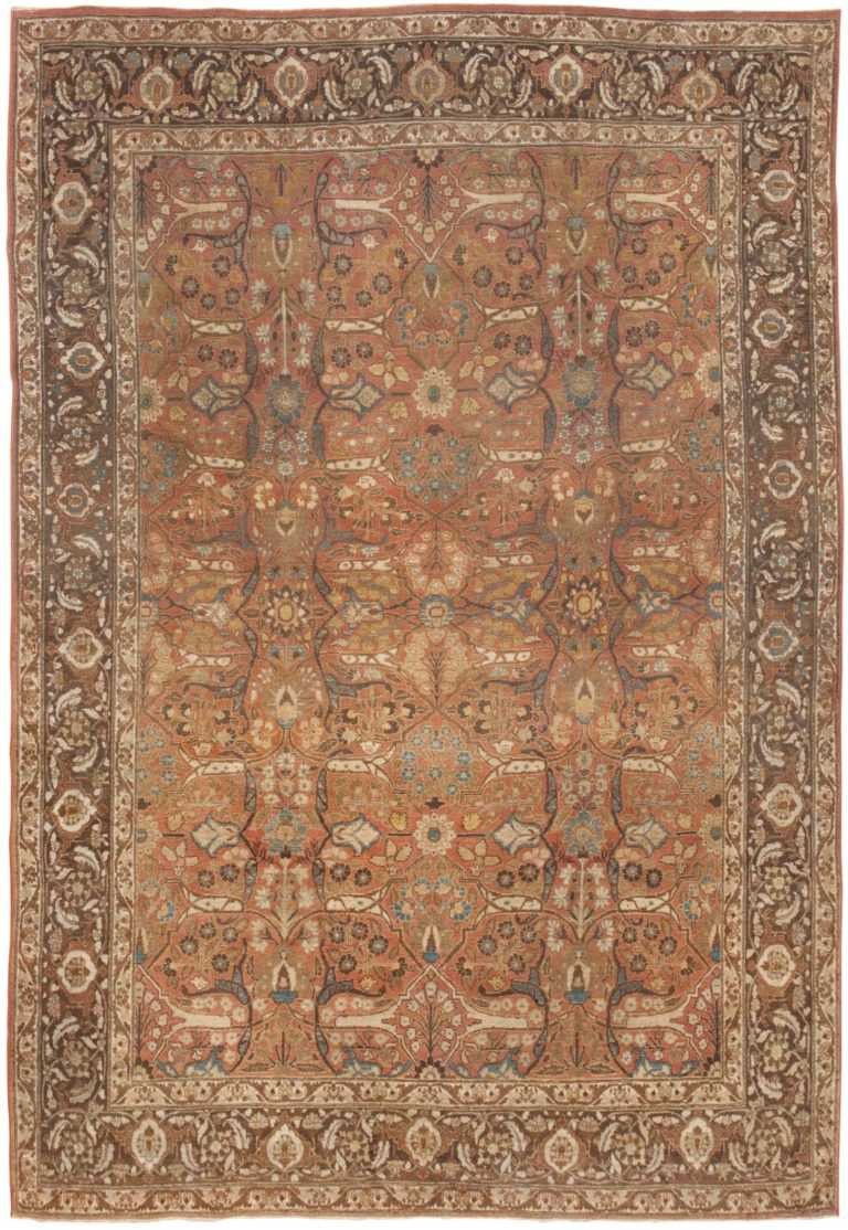 Antique Tabriz Persian Rug 45194 Detail/Large View