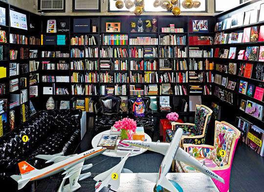 Creative Fun Office Lounge Decor by Nazmiyal