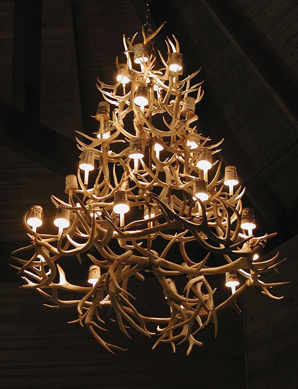 Decorating With Antlers Chandelier by Nazmiyal