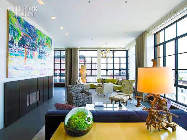 Interior Design With Terrarium by Artist Paula Hayes by Nazmiyal