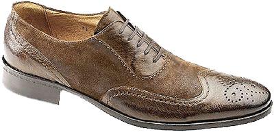 Johnston Murphy Matheson Wingtip Shoes - Nazmiyal