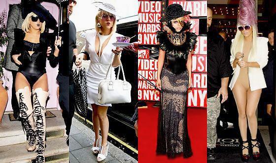 Lady Gaga Fashion Looks - Nazmiyal