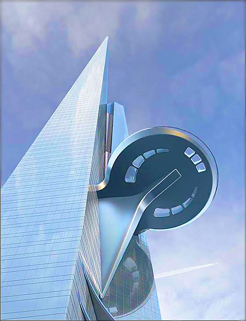Riyadh Saudi Arabia Tallest Building in The World Kingdom Tower - Nazmiyal