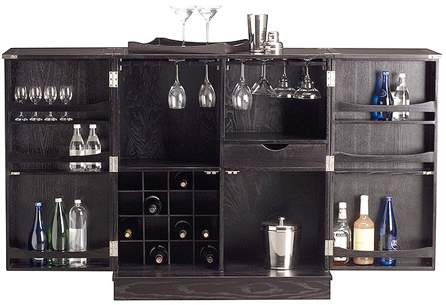 Steamer Bar Cabinet by Nazmiyal