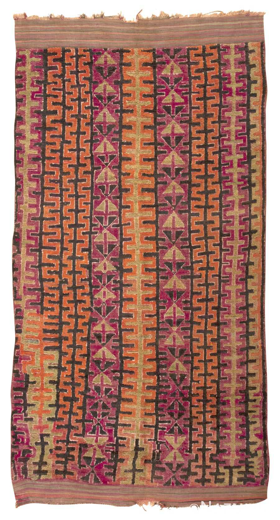 Vintage Purple Moroccan Rug 45201 from Nazmiyal Antique Rugs in NYC