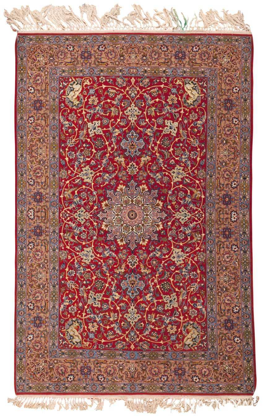 Isfahan Persian Rug 45243 Detail/Large View