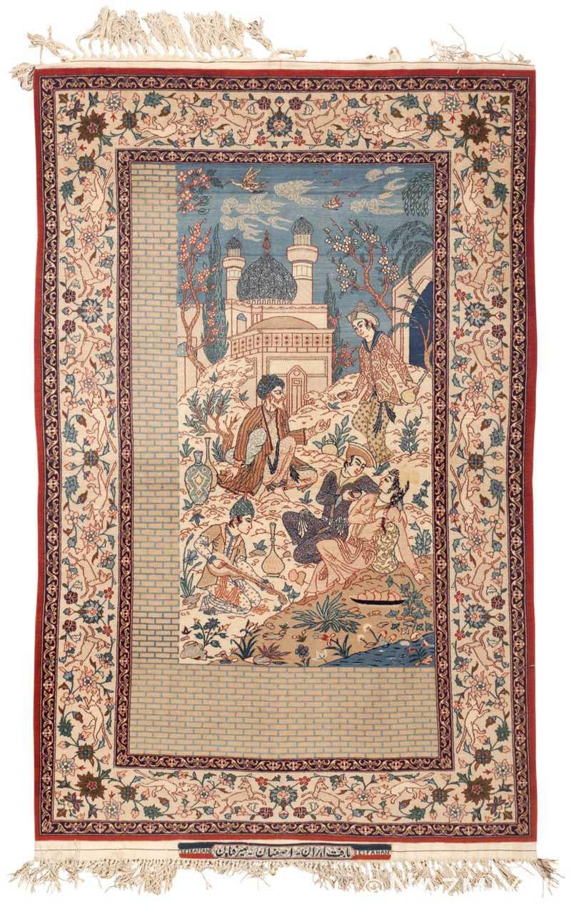 Antique Carpet Isfahan Old Antiques Center