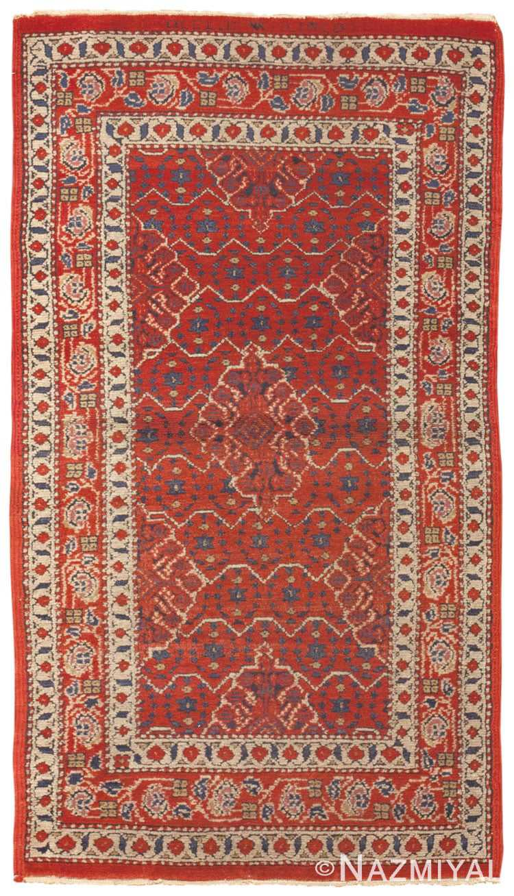 Antique Marbediah Israeli Rug 45258