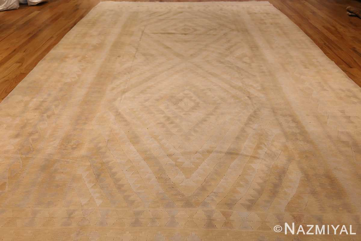antique cotton indian dhurrie rug 44919 whole Nazmiyal