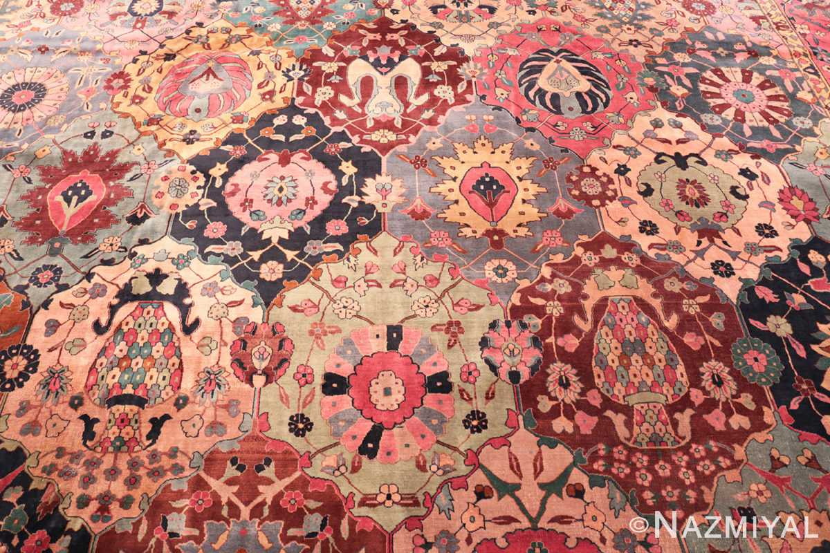 Background Antique Indian rug 45206 by Nazmiyal