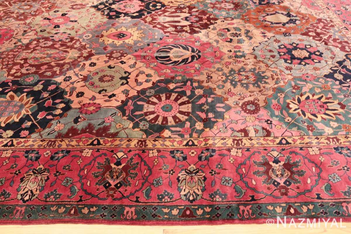 Border Antique Indian rug 45206 by Nazmiyal