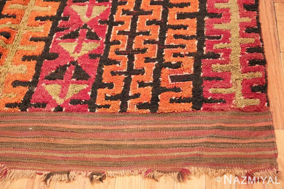Corner Vintage Purple Moroccan 45201 by Nazmiyal