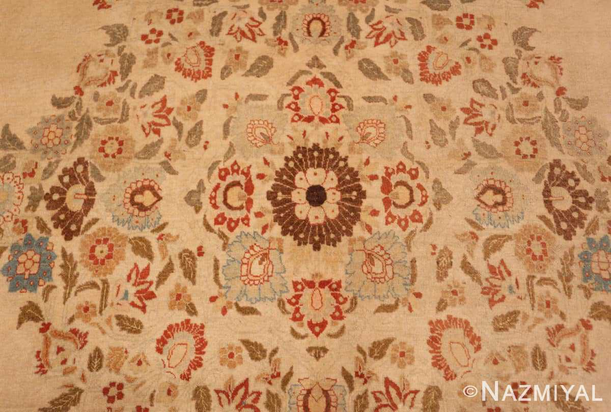 Detail Antique Tabriz Persian rug 45088 by Nazmiyal