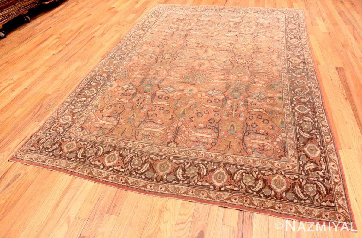 Full Antique Tabriz Persian rug 45194 by Nazmiyal