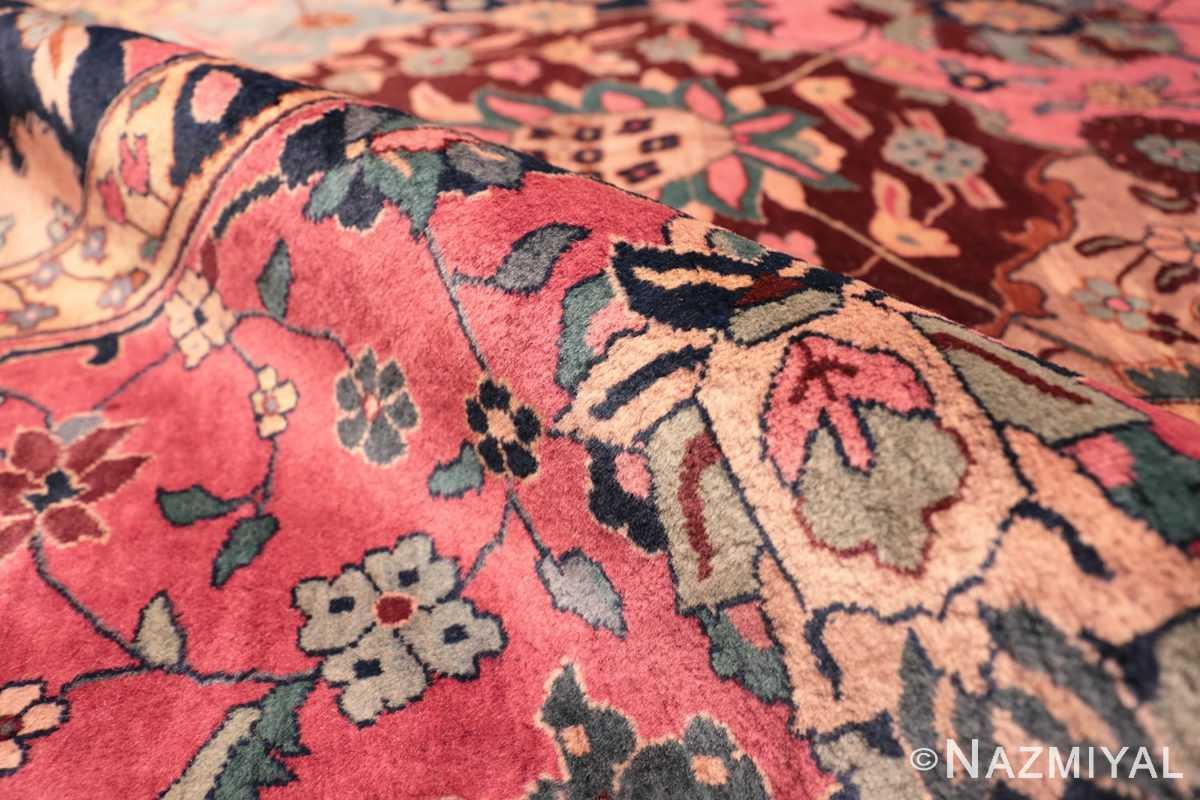 Pile Antique Indian rug 45206 by Nazmiyal