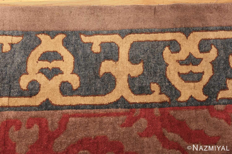 vintage chinese art deco rug 45270 border Nazmiyal
