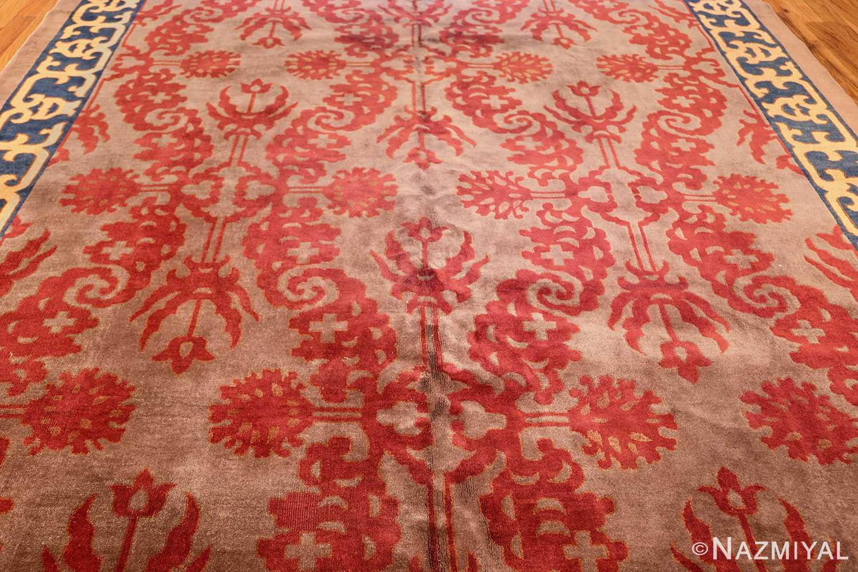 vintage chinese art deco rug 45270 field Nazmiyal