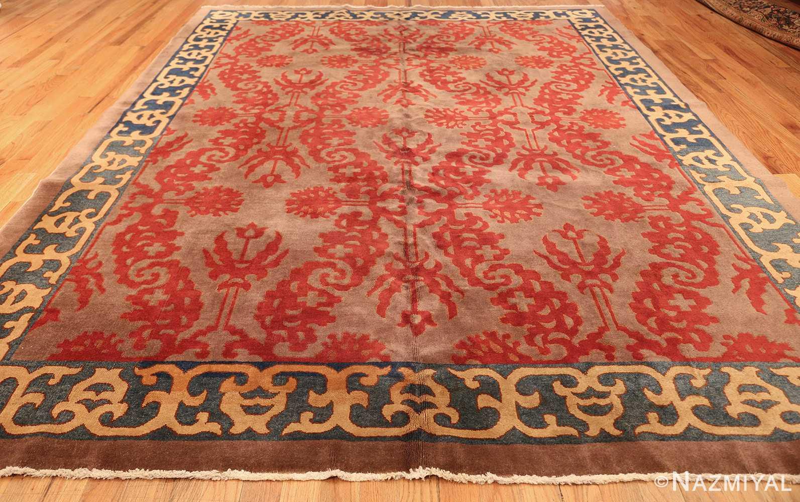 vintage chinese art deco rug 45270 whole Nazmiyal