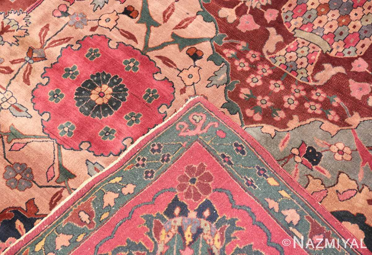 Weave Antique Indian rug 45206 by Nazmiyal