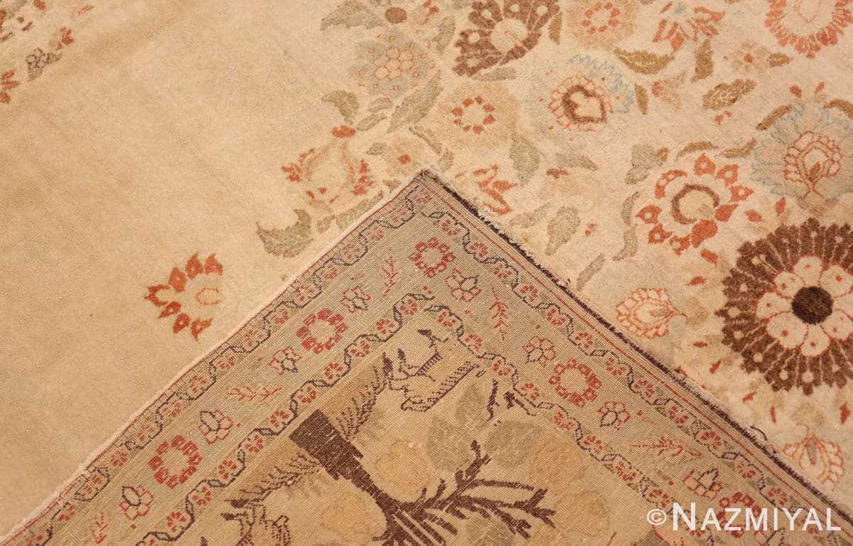 Weave Antique Tabriz Persian rug 45088 by Nazmiyal