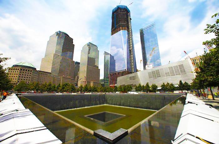 9 / 11 Tower Footprints Memorial Museum Nazmiyal