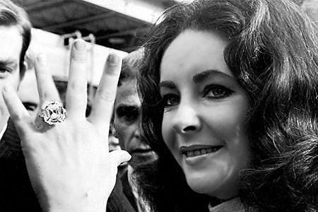 Elizabeth Taylor Diamond Ring by Nazmiyal