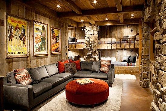 Gentleman's Lounge - Man Cave Interior Decor Nazmiyal