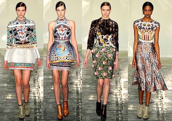 Mary Katrantzou Women's Fall Fashion Trends by nazmiyal
