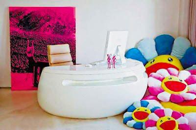 Modern Office Desk Interior Design Nazmiyal