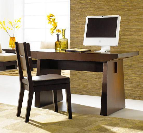 Home Office Design With Modern Wood Desk Nazmiyal
