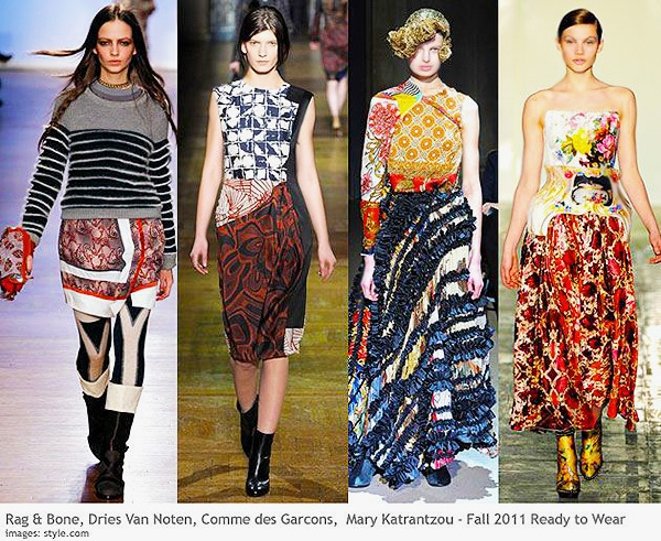 Prints and Patterns in Women's Fall Fashion Trends by Nazmiyal