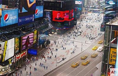 Time Square Redesign - Nazmiyal